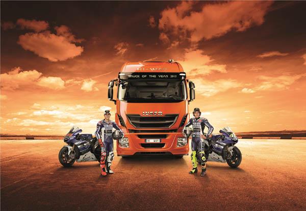 Iveco si conferma Official Sponsor del MotoGP e del Yamaha Factory Racing Team