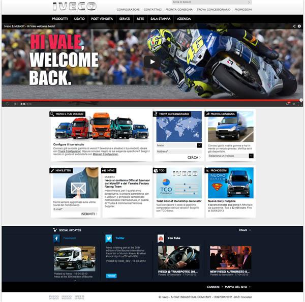 On-line il nuovo sito web di Iveco