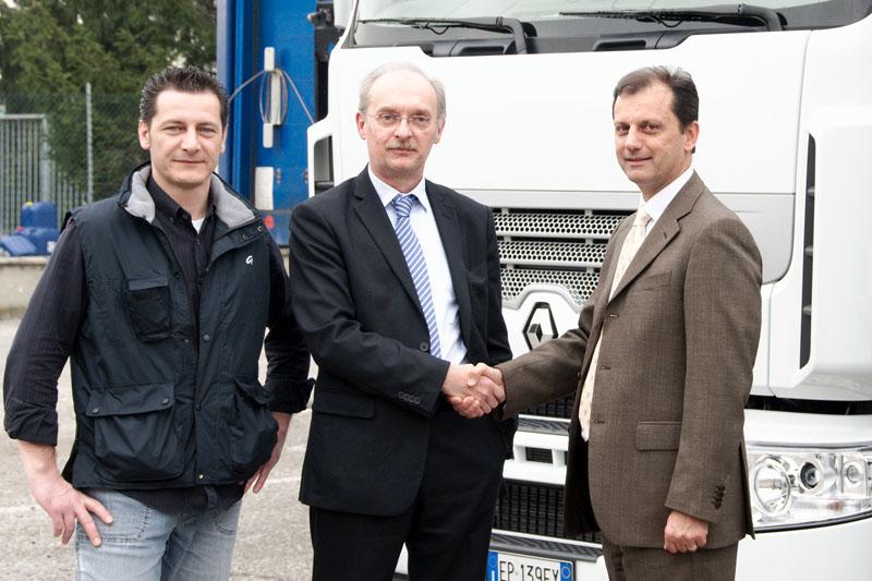 Il consorzio CABL di Codogno riduce i costi con Renault Trucks