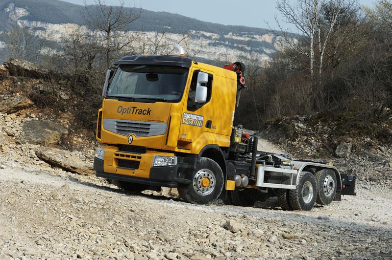 Renault Trucks, impressionano le performance di Optitrack
