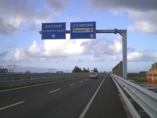 """Oristano, conclusi i lavori sulla SS 131 DCN """"Carlo Felice"""""""