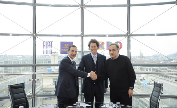 Fiat S.p.A. e Fiat Industrial Global Partners di Expo Milano 2015