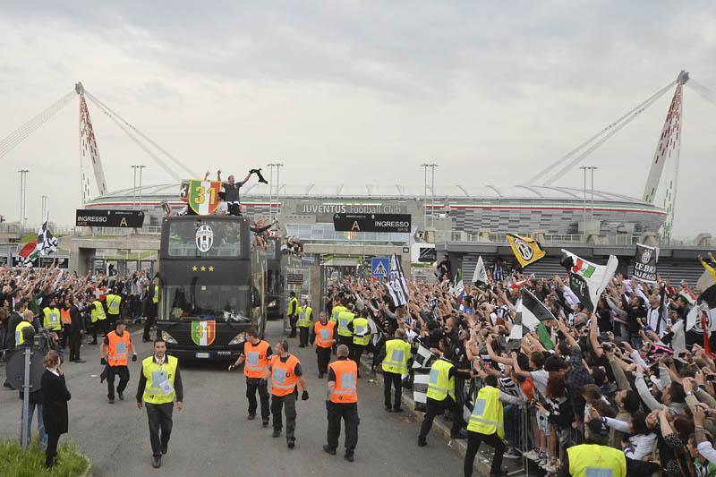 Juventus festeggia con Iveco Irisbus per il secondo anno consecutivo