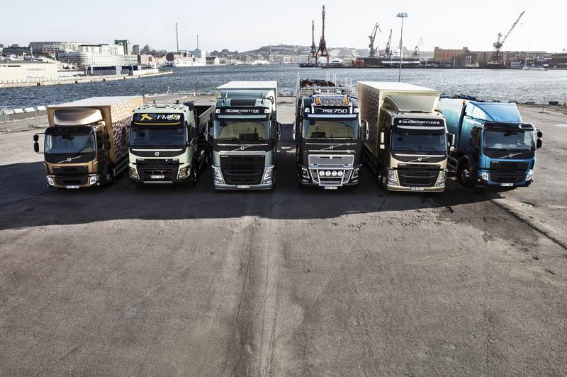 In otto mesi, Volvo Trucks ha rinnovato completamente la sua gamma di modelli in europa