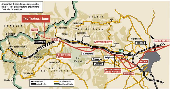 TAV, approvato il disegno di legge di ratifica del trattato Italia-Francia