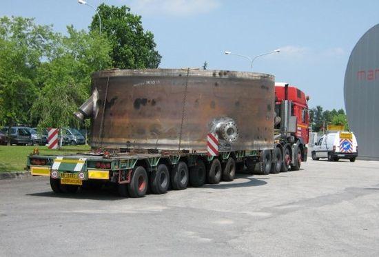 Limitazioni trasporti eccezionali al Traforo del Monte Bianco