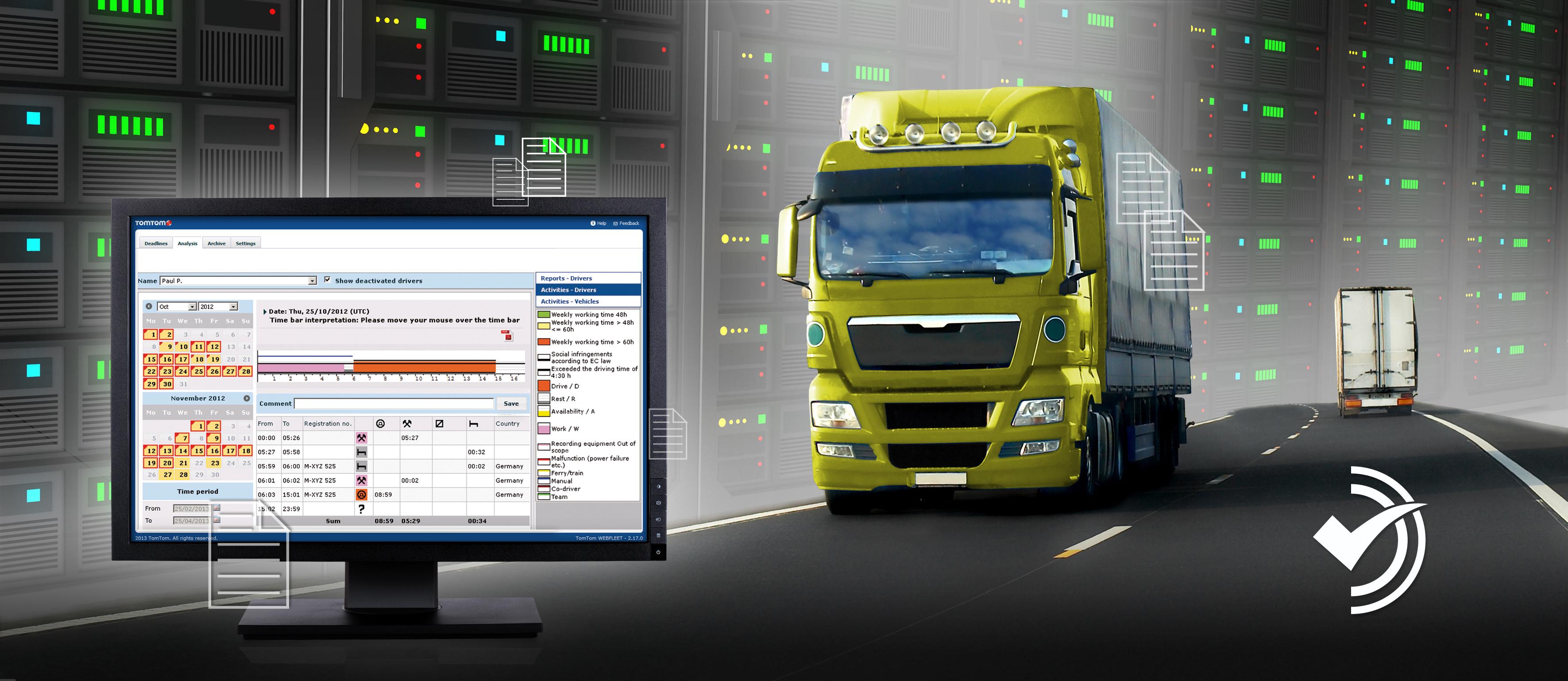 TomTom Business Solutions annuncia la nuova soluzione all-in-one per la gestione dei dati del tachigrafo