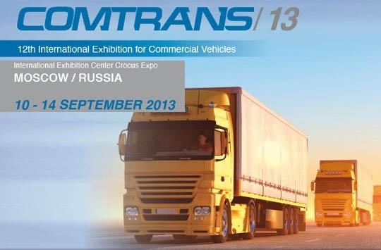 Iveco all'edizione 2013 del Comtrans di Mosca