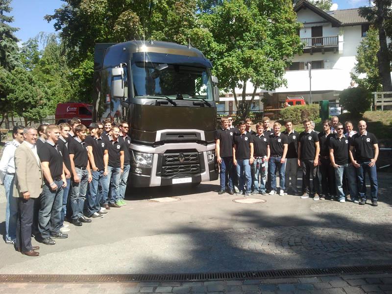 Presentazione squadra di hockey su ghiaccio Ritten Sport-Renault Trucks