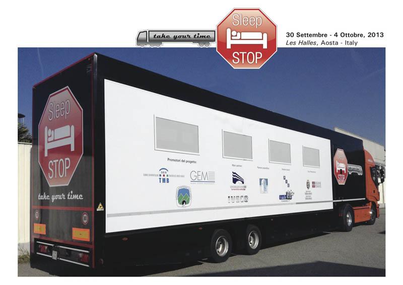 """Sonno e sicurezza stradale, via al progetto """"Sleep Stop"""" per gli autotrasportatori"""