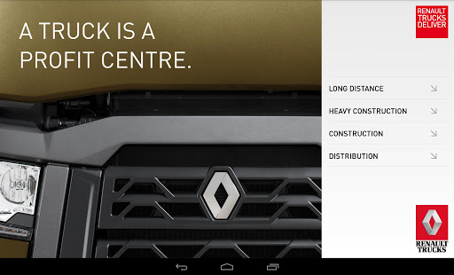 The Range, app Renault Trucks