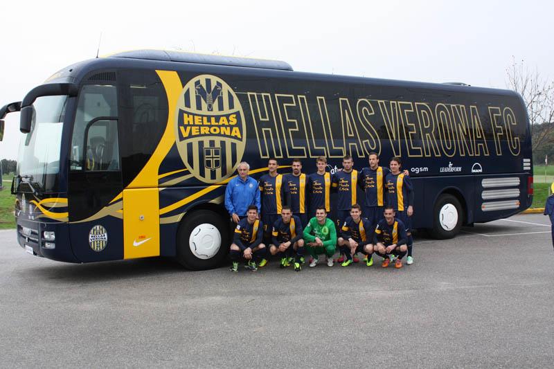 L'Hellas Verona sceglie MAN Lion's Coach