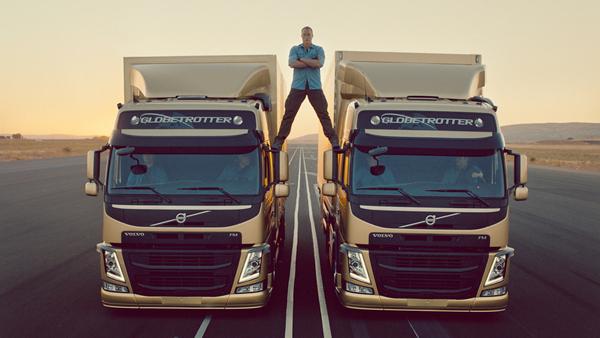 Volvo Dynamic Steering ha reso possibile un'acrobazia senza precedenti