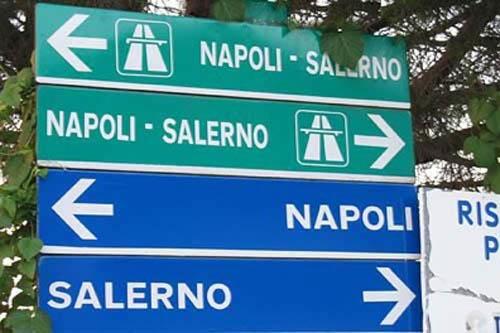 A3 Napoli-Salerno, da stanotte e per tre notti chiusure per lavori