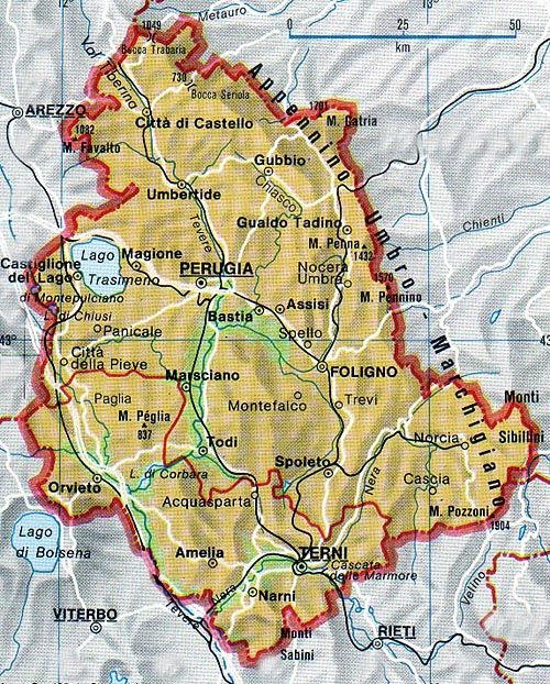 Umbria, limitazioni al traffico a Foligno, Nocera Umbra e Perugia