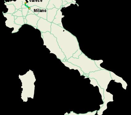 Autostrada A8 Milano Varese, da stanotte chiusure a Busto Arsizio