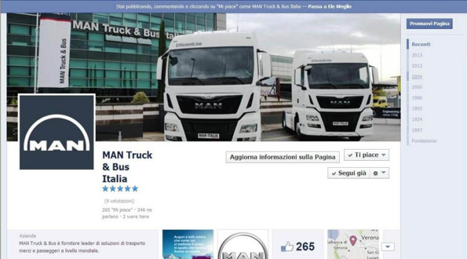 MAN Truck & Bus Italia su Facebook