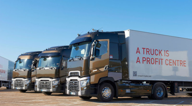 Optifuel Challenge 2014, Renault Trucks T è pronto