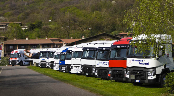 Brindisi in Franciacorta per i Renault Trucks T