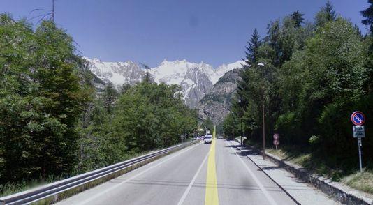 Statale 26 della Valle d'Aosta, limitazioni dal 27 al 30/4/2015