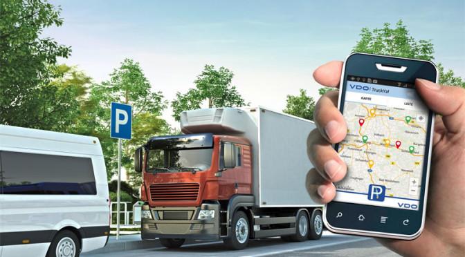 TruckYa! L'app VDO sulle aree di sosta