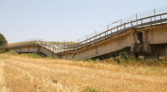 Agrigento, ok mezzi leggeri su Statale 123 dopo cedimento viadotto Petrulla