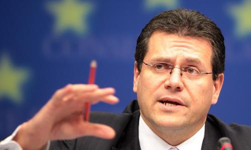Maros Sefcovic commissario ai Trasporti e Spazio dell'Unione Europea