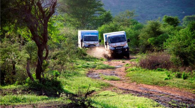 """""""Daily4Africa"""": i numeri della missione in Africa dell'Iveco Daily 4×4"""