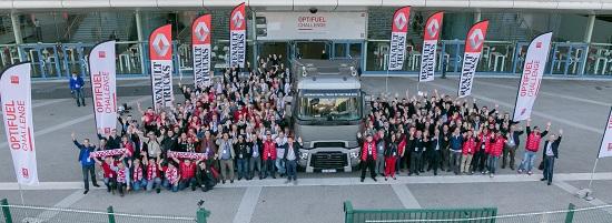 Stéphane Saves della Semezies Transport vince Optifuel Challenge 2014