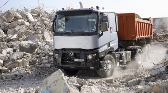 Optitrack sulla gamma C di Renault Trucks