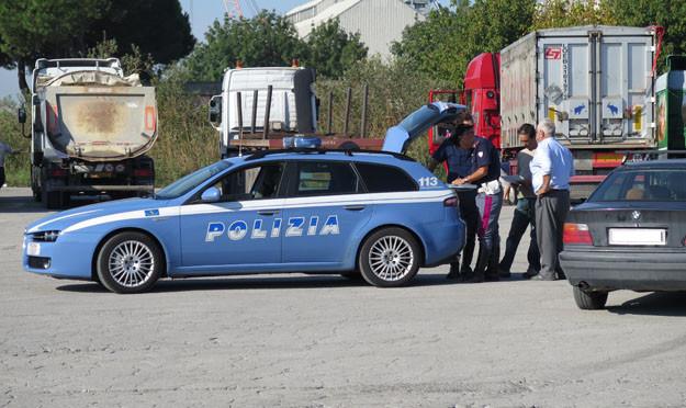 Controlli sugli autotrasportatori con il sistema Scout Nav a Ravenna