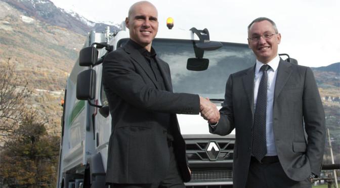 Prosegue la partnership tra Quendoz srl di Nus e Renault Trucks