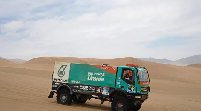 Dakar 2015, Iveco sale in classifica verso la Top 5