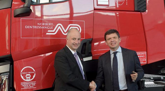 530 nuovi veicoli Renault Trucks euro 6 per Norbert Dentressangle