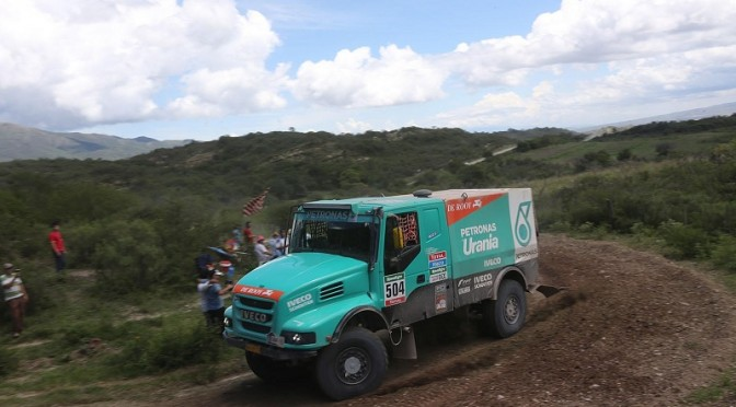 Dakar 2015: doppietta Iveco nell'11ª tappa