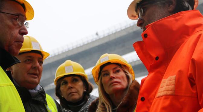 Delegazione locale di Forza Italia visita cantiere TAV