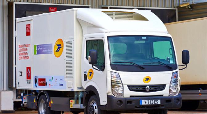 La Poste e Renault Trucks testano veicolo a idrogeno