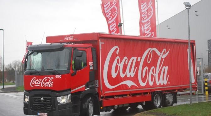 Coca-Cola Belgio fa 100 Renault Trucks
