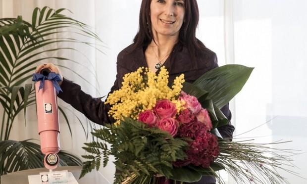 La camionista Rosa Di Gregorio vince il Sabo Rosa 2015