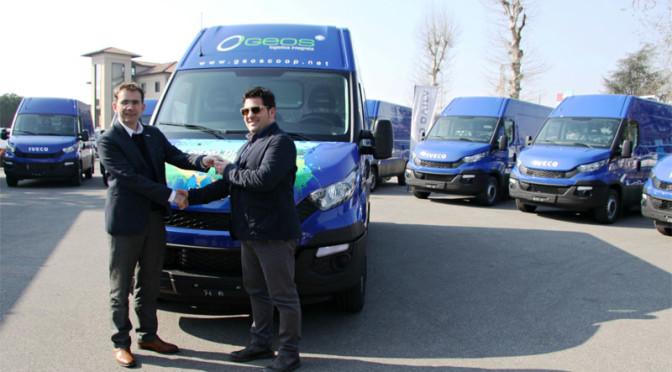40 nuovi Iveco Daily CNG per GEOS