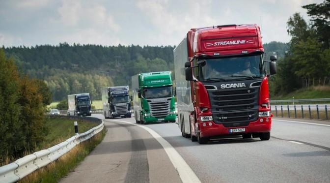 Scania a Transpotec Logitec 2015