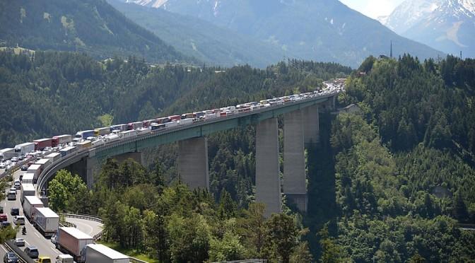 Austria, divieto notte 18-19/4/2015 su Brenner-Autobahn A13