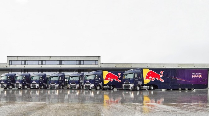Renault Trucks… e Red Bull