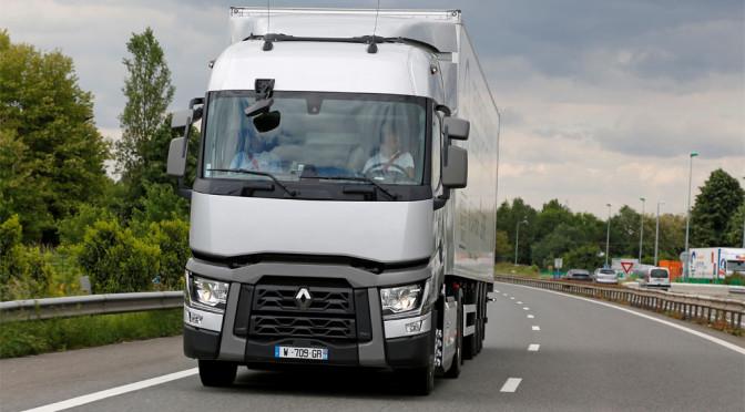 Renault Trucks T Optifuel, TUV certifica risparmio carburante