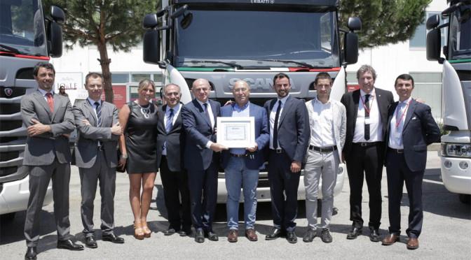 Tre Scania Euro 6 a metano per la SOA di Alberobello (BA)