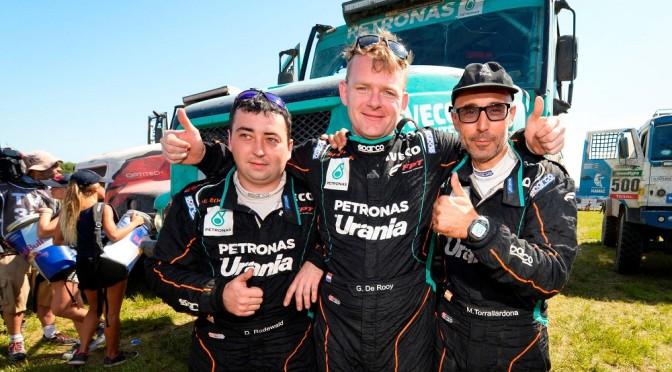 Gerard De Rooy e Iveco trionfano alla Dakar 2016