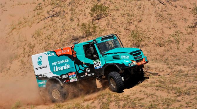 Dakar 2016: Iveco e De Rooy consolidano vantaggio in classifica