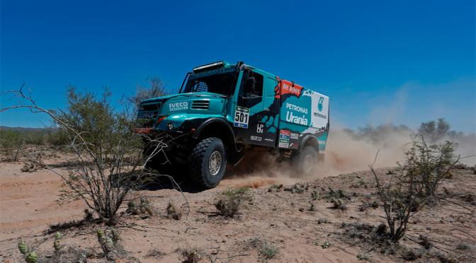 Dakar 2016: Iveco e De Rooy, un altro passo verso la vittoria