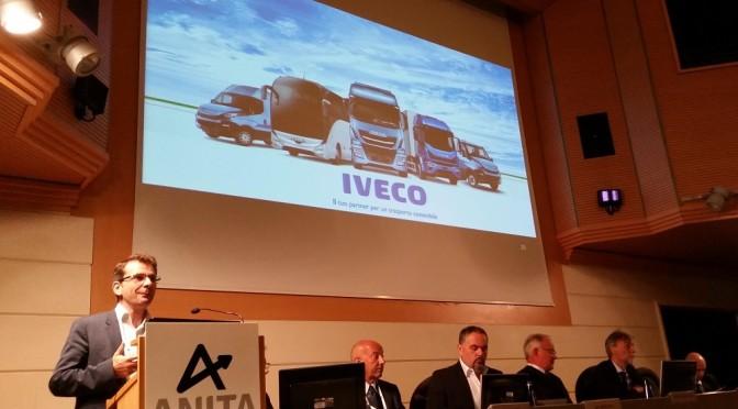 La strategia ambientale di Iveco all'assemblea di Anita 2016