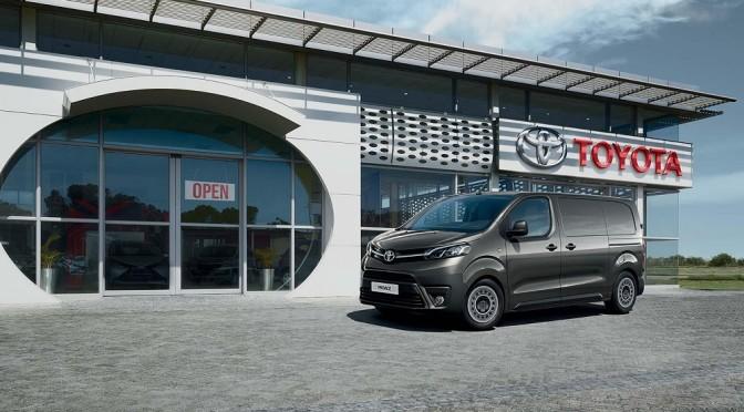 Toyota presenta la linea Proace a truckEmotion 2016